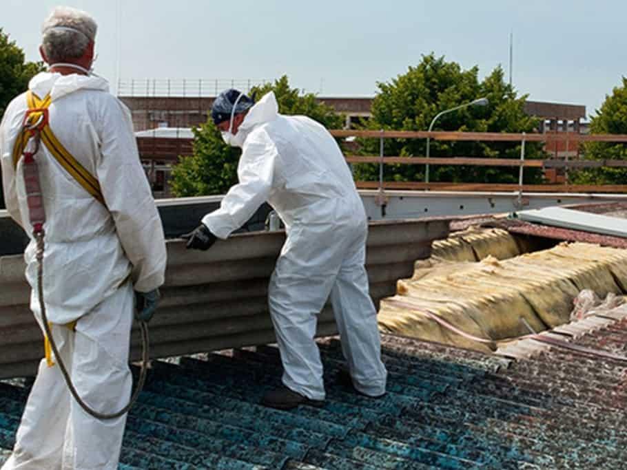 fachgerechte Asbestentsorgung bei Holzbau Böll GmbH